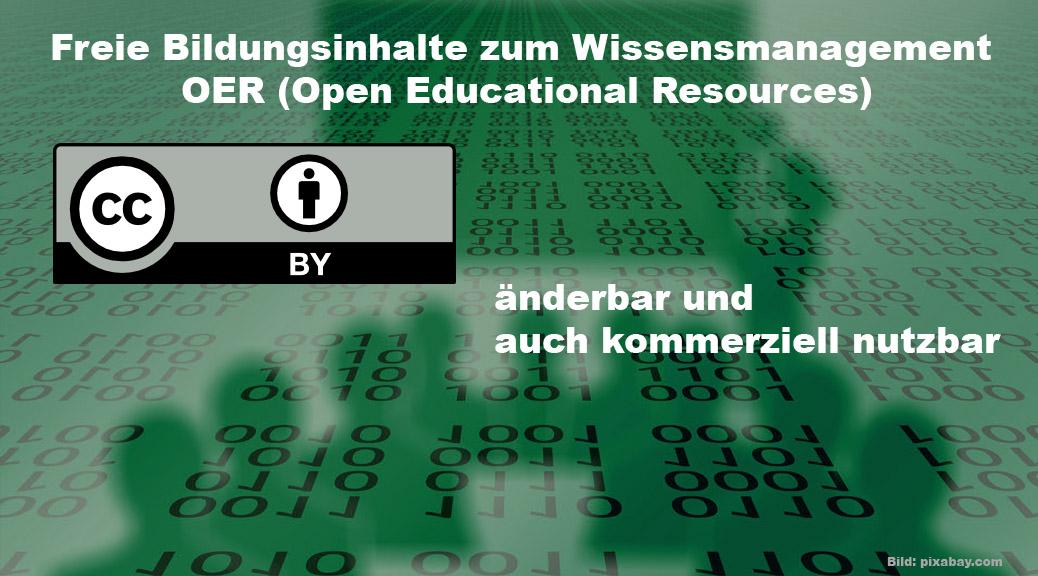 Freie Bildungsinhalte - Wissensmanagement